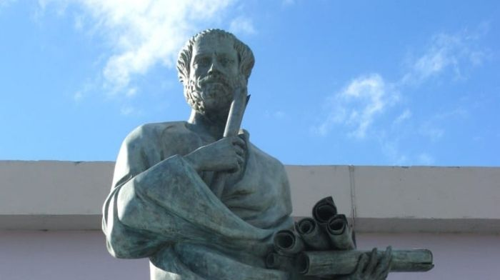 Aristotle cheestory