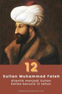 Sultan Fateh 12 tahun